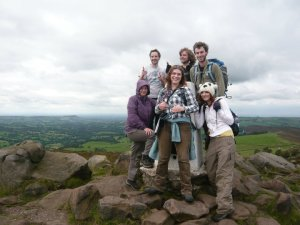 All of us at the top of the roaches
